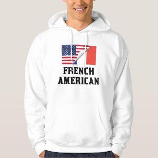 French American Flag Hoodie