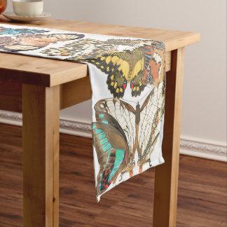 French Art Nouveau Butterflies Table Runner