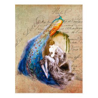 French Art Nouveau ~ La Lettre Postcard