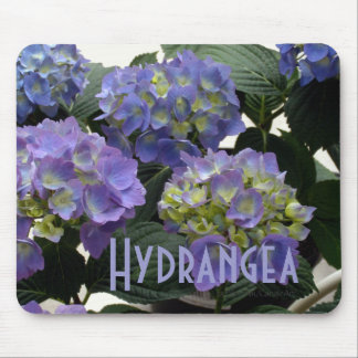 French Baby Blue Hydrangeas Mouse Pad