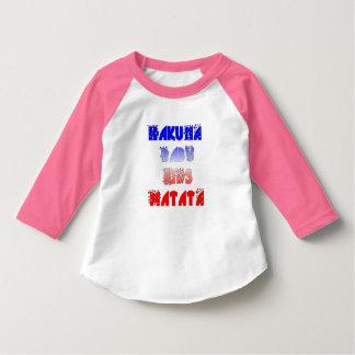 French Baby Kids Hakuna Matata American Apparel T Tee Shirt