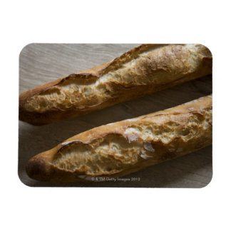 French baguettes, French bread, close up Magnet
