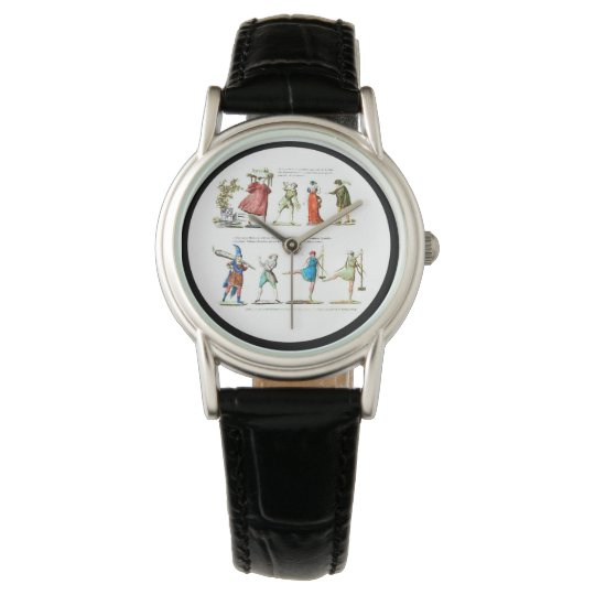 French Ballet Scene Vintage Watch