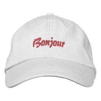 French Baseball Cap Bonjour