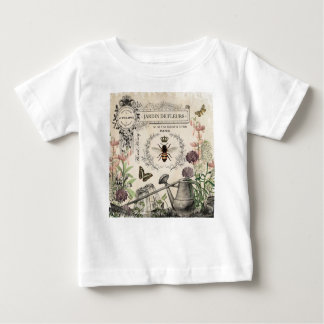 FRENCH BEE GARDEN BABY T-Shirt