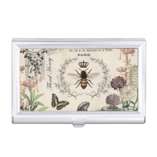 FRENCH BEE GARDEN BUSINESS CARD HOLDER