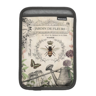 FRENCH BEE GARDEN iPad MINI SLEEVE