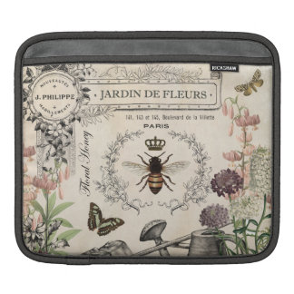 FRENCH BEE GARDEN iPad SLEEVE