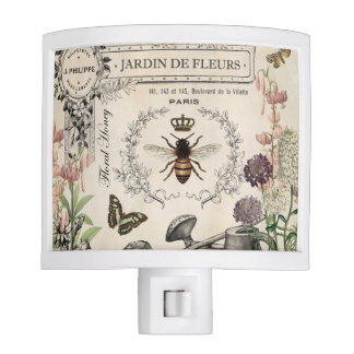 FRENCH BEE GARDEN NITE LIGHT
