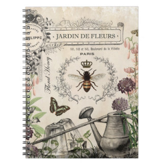 FRENCH BEE GARDEN NOTEBOOKS