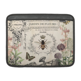 FRENCH BEE GARDEN SLEEVE FOR MacBook AIR