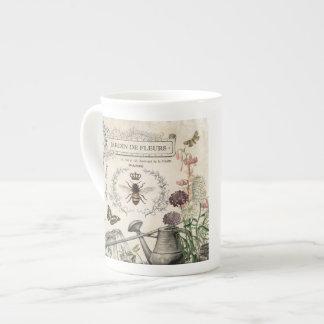FRENCH BEE GARDEN TEA CUP