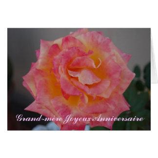 French Birthday Card For Grandma