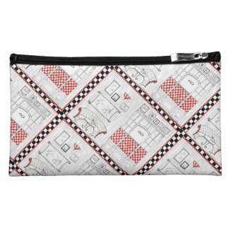 French Bistro Cosmetic Bags