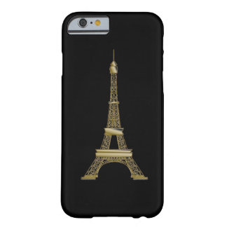 French Black & Gold Eiffel Tower iPhone 6 Case