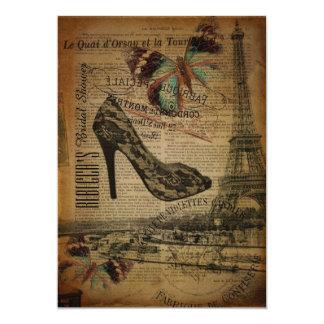 french botanical paris stilettos card