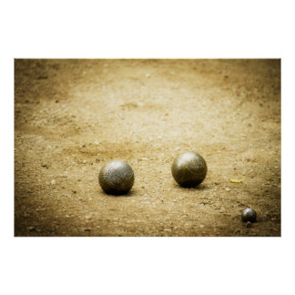 French Boules Poster