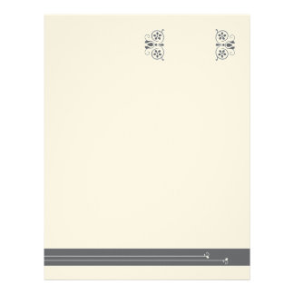French Boutique Personalized Letterhead