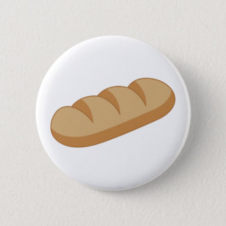 French Bread 2 Inch Round Button