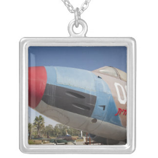 French-built Vautour bomber Silver Plated Necklace