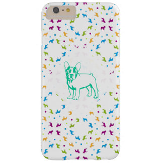 French Buldogs pattern Primavera Barely There iPhone 6 Plus Case