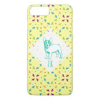 French Buldogs pattern Primavera iPhone 7 Plus Case
