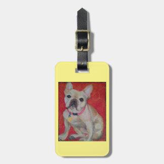 French Bull Dog Luggage or Purse Tag