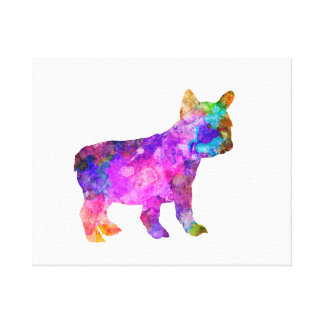 French Bulldog 02-2 Canvas Print