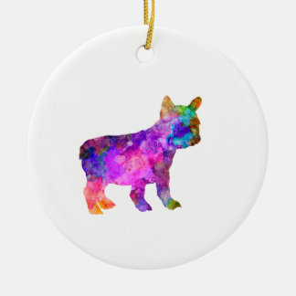 French Bulldog 02-2 Ceramic Ornament