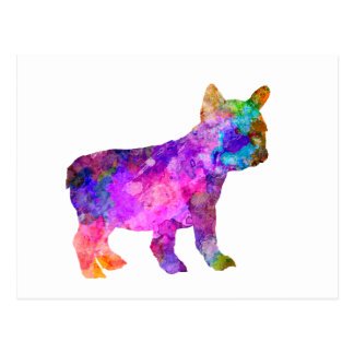 French Bulldog 02-2 Postcard