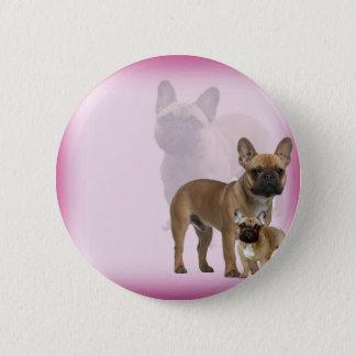 French Bulldog 2 Inch Round Button
