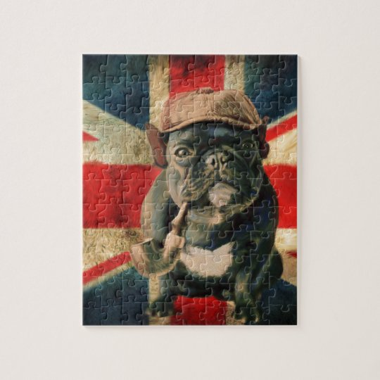 French Bulldog 2 Jigsaw Puzzle