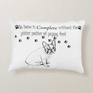French Bulldog Accent Pillow