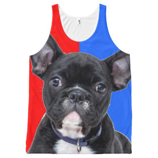 FRENCH BULLDOG All-Over-Print TANK TOP
