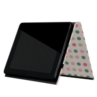 French bulldog and colorful dots iPad covers