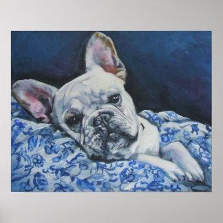 French Bulldog art print