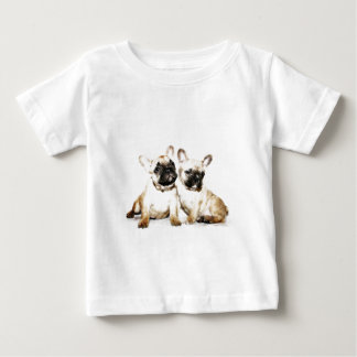 French Bulldog art Tshirt