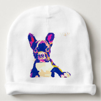 French Bulldog Baby Beanie