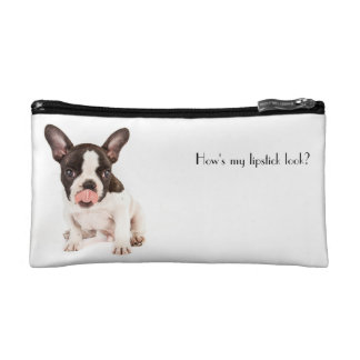 French Bulldog bag Cosmetics Bags