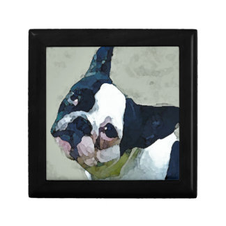French Bulldog Black/White Gift Box