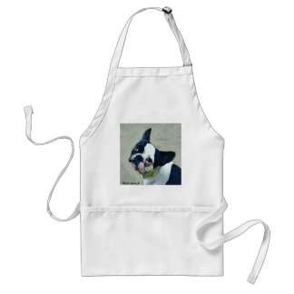 French Bulldog Black/White Standard Apron