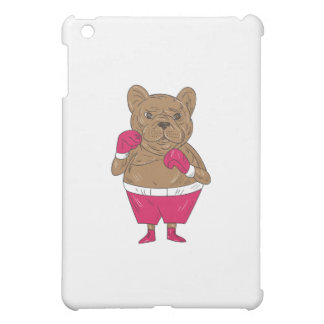 French Bulldog Boxer Boxing Stance Cartoon Case For The iPad Mini