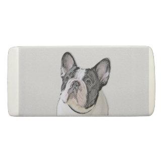 French Bulldog (Brindle Pied) Eraser