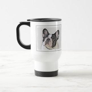 French Bulldog (Brindle Pied) Travel Mug