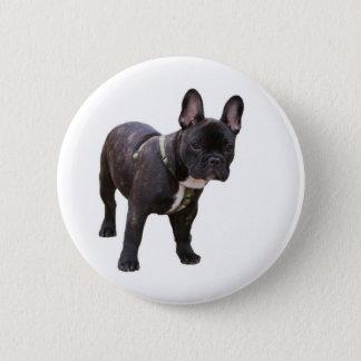 French Bulldog button, pin, gift idea 2 Inch Round Button