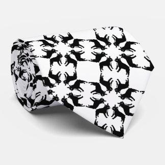 French Bulldog bw Tie