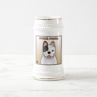 French Bulldog Cartoon Beer Stein