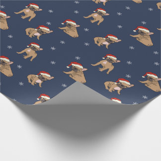 French Bulldog Christmas Wrapping Paper
