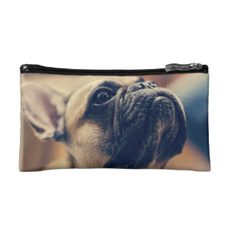 french bulldog cosmetic bag
