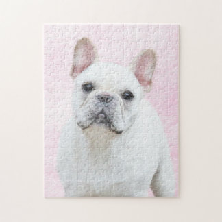 French Bulldog (Cream/White) Jigsaw Puzzle